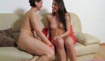 First Lesbian Porn Casting