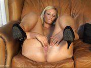 Blonde casting xxx